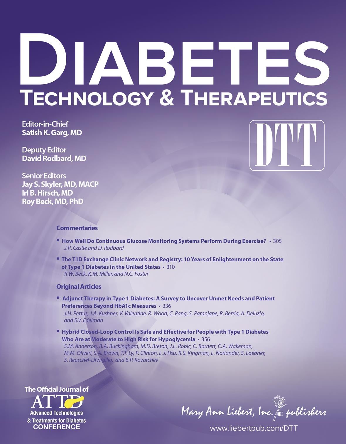 Abstracts from ATTD 20147th International Conference on